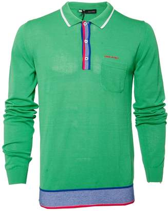 DSQUARED2 Green Cotton Polo shirts