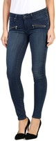 Paige Women's Indio Zip Skinny Jeans