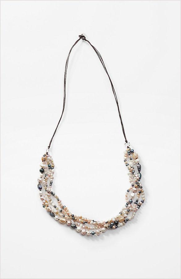 J. Jill Multistrand freshwater pearl necklace
