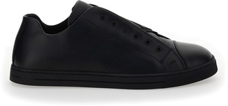 Fendi Slip-On Strap Sneakers