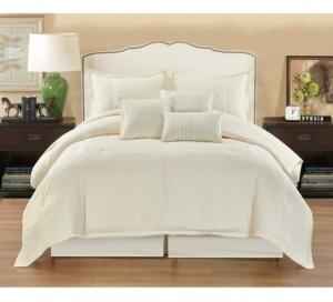 Nanshing Pisa 7 Piece Comforter Set, California King Bedding