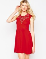 French Connection Alicia Lace Tea Dress
