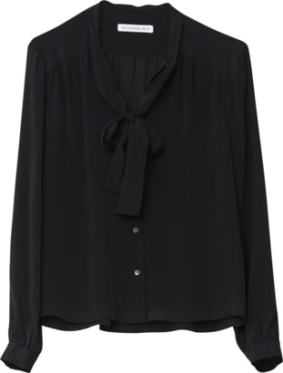 Rodebjer Linn Silk Shirt - S - Black