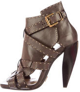 Michael Kors Multistrap Leather Booties