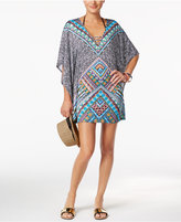Bar III Printed Tunic Coverup, Only at Macy's