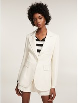 Tommy Hilfiger Nautical Crest Tailored Blazer