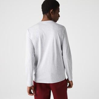 Lacoste Men's V-neck Soft Cotton T-shirt