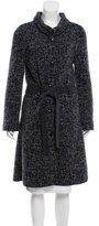 Christian Dior Belted Wool-Blend Coat