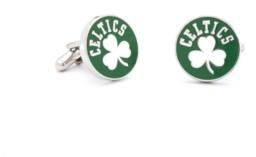 Cufflinks Inc. Retro Boston Celtics Cufflinks