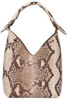 Anya Hindmarch The Bucket Small Python Bag, Neutral Pattern