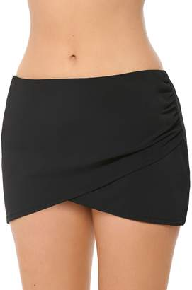 Christina Semi-High Wrap Skirted Bottom