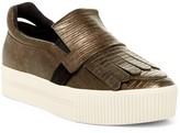 Ash King Kilted Platform Sneaker