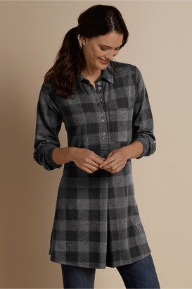 Petites Mad About Plaid Tunic