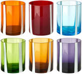 Pols Potten Colour & White Strip Tumblers