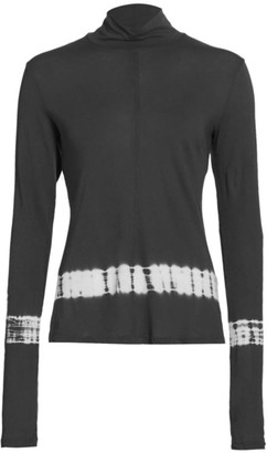 Raquel Allegra Tie-Detail Turtleneck