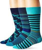 Bugatchi Men's Three-Pack Damek Sock