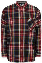 Topman Multicoloured Check Shirt
