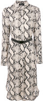 By Malene Birger snake pattern shirt dress