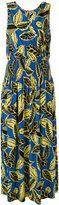 Moschino Printed wrap dress - women - Rayon - 44