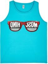 Moschino Sunglasses-print Stretch Cotton Tank