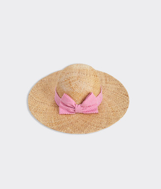 Vineyard Vines Floppy Bow Sun Hat