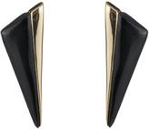 Alexis Bittar Angled Pyramid Post Earrings
