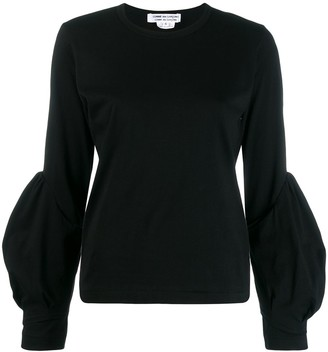 Comme des Garcons puff sleeve jumper