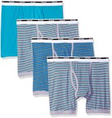 Gildan Men's 4-Pack Boxer Brief