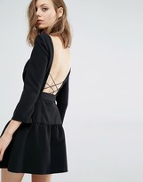 BA&SH Taxi Dress with Cross back Detail