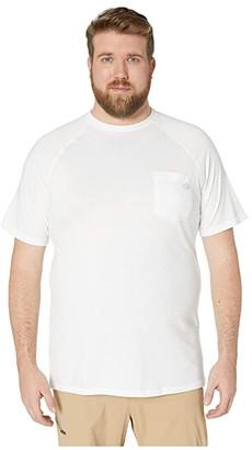 Dickies Big Tall Temp-IQ Performance Cooling Tee (White) Men's T Shirt