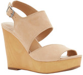 Lucky Brand Women's Lattela Quarter Strap Wedge Sandal