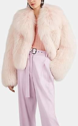 Valentino Women's Fox-Fur Jacket - Pink