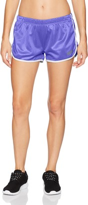 Soffe Women's Juniors Retro Birds Eye Mesh Short