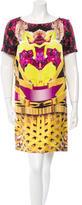 Mary Katrantzou Silk Digital Print Dress