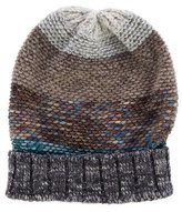Missoni Metallic Rib Knit Beanie