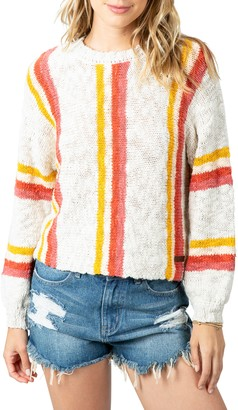Rip Curl Keep On Surfin Stripe Sweater