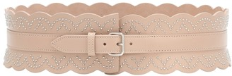 Alaia Studded leather belt