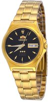 Orient #FAB02002B Men's 3 Star Standard Gold Tone Dial Automatic Watch