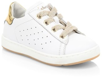 Naturino Baby's, Little Girl's & Girl's Metallic Patch Leather Low-Top Sneakers