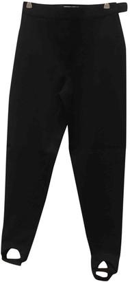 Byblos Grey Wool Trousers for Women
