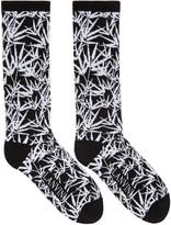 Lanvin Black Jacquard Socks