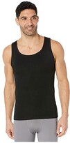 Spanx For Men for Men Zoned Performance Tank (Black) Men's Underwear