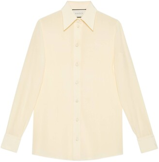 Gucci Crepe de Chine silk shirt