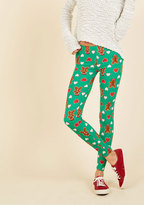 Swell on a Holiday Leggings in Gingerbread in S