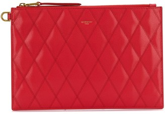 Givenchy Diamond Quilted Clutch