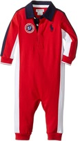 Ralph Lauren Jersey Rugby One-Piece Coveralls Boy's Overalls One Piece