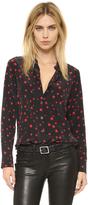 Equipment Kate Moss Slim Signature Clean Blouse