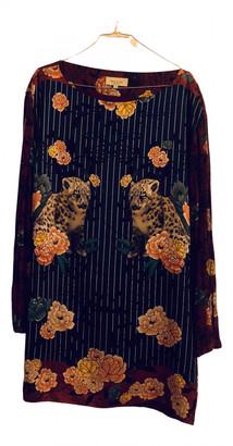 Paul & Joe Burgundy Silk Dress for Women