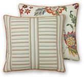 Rose Tree Lisburn Square Throw Pillow in Taupe