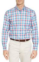 Cutter & Buck Dylan Classic Fit Easy Care Check Sport Shirt